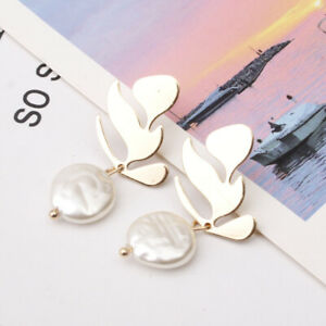 Fashion-Women-Lady-Party-Earring-Elegant-pearl-Dangle-Stud-Earrings-Jewelry