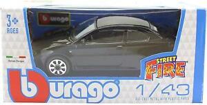 BURAGO-NUOVO-1-43-Modello-Pressofuso-Auto-Alfa-Romeo-GT-in-Nero-Street-Fire-034-Gamma