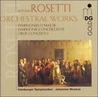 Antonio Rosetti: Orchestral Works (CD, May-2001, MDG)