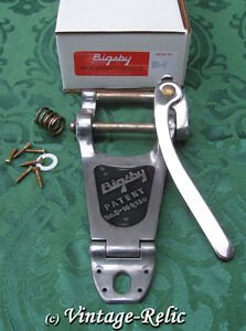 aged bigsby b7 usa vibrato tremolo aluminum nickel relic fits gibson les paul 609722127677 ebay. Black Bedroom Furniture Sets. Home Design Ideas