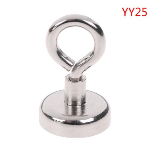 1 Stücke Starke Neodym-Magnet Runde Zugkraft Fluss Angeln magnetischen YG