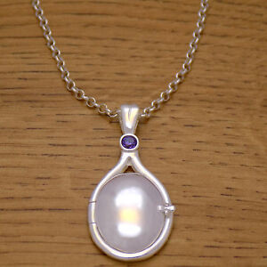 925 Sterling Silver H2O Just Add Water Mermaids Pink CZ Locket Necklace /& Chain