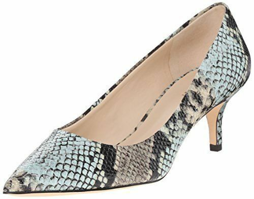 Nine West  Damenschuhe Xeena Synthetic Dress Pump Taupe Multi 5M US