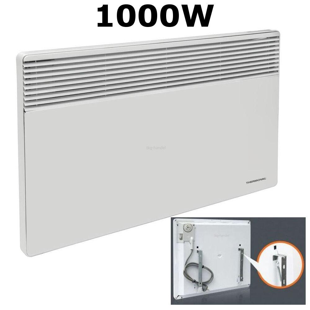 1000W Konvektor Heizstrahler Heizkörper Heizung Heizgerät Elektro Heizer Wärme
