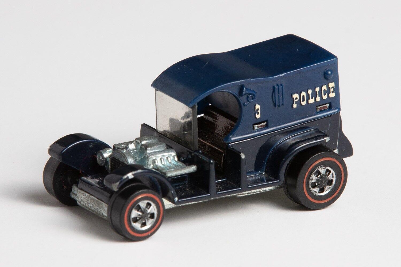 Original 1969 hot wheels rotline gefängniswagen blau, usa