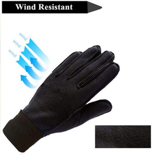 Children Gloves Winter Junior Toddler 3M Fleece Bike Running Outdoor Windproof