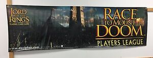 Lord of the Rings Race To Mount Doom Players League, 2-Sided Banner Poster