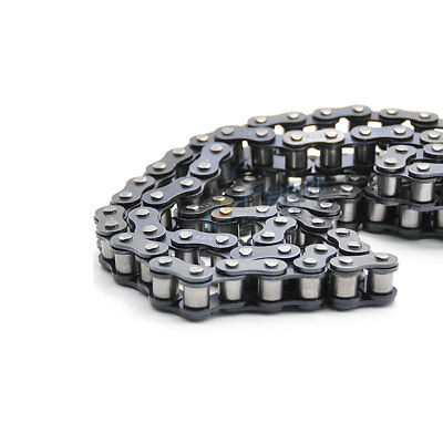 #40 201 Stainless Steel Roller Chain Pitch 12.7mm 08A 40# Roller Chain x1.5M