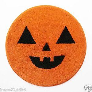 Image Is Loading Pumpkin Jack O Lantern Face Bath Throw