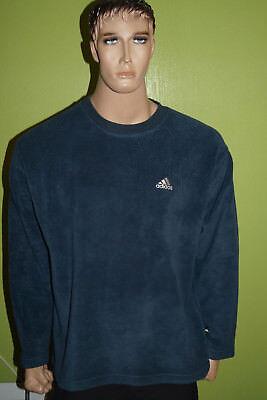 Adidas Felpa Vintage Anni 90 Manica Lunga Tg S-mostra Il Titolo Originale Bianco Puro E Traslucido