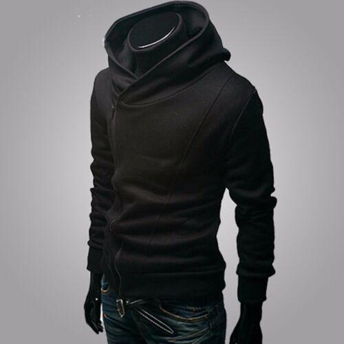 New Fashion Men/'s Korean Slim Fit Sweater Hoodie Cardigan Jacket Coat Sweatshirt