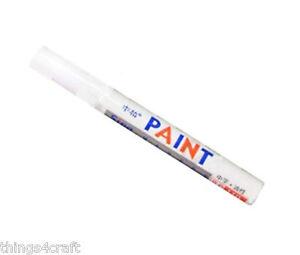 WHITE-CAR-TYRE-MARKER-PAINT-PEN-TIRE-METAL-PERMANENT-UK-SELLER-BRAND-NEW