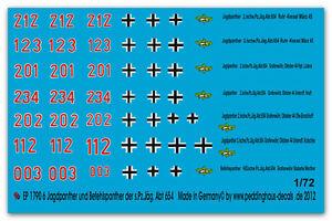 PEDDINGHAUS-1-72-1790-6-Jagdpanther-und-1-Pantera-COMANDO-der-NERO-pz-jag-ABT