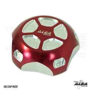 Polaris Slingshot Gas Cap Billet aluminum Alba Racing Red