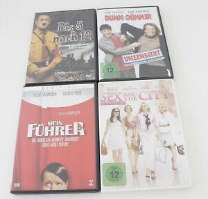 Konvolut-4-x-DVD-Mein-Fuehrer-Dumm-amp-dummer-Sex-and-the-City-Bis-5-nach-12