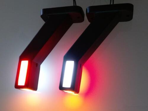 2 Begrenzungsleuchten Umrissleuchten Leuchten WAS 1171L//R  LED