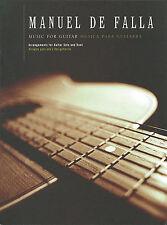 Manuel De Falla Music For Guitar Learn to Play Spanish Duet Music Book