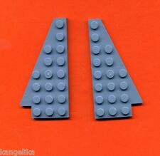 Lego--3933/3934--Flügel--Panel--2 Stück-- blau / SandBlue-- 4 x 8 --