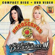 "CD+DVD Los Horoscopos De Durango , Y Seguimos Con Duranguense ""NEW""/Sealed"