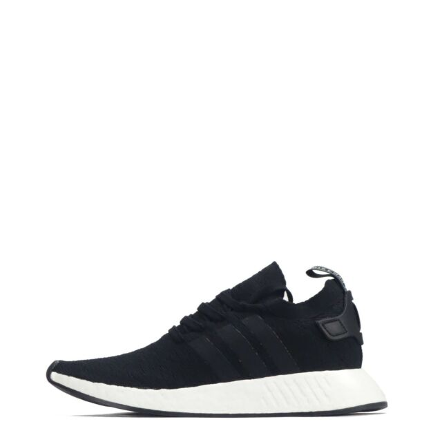 reputable site 1b00a 8f01e Adidas Originals Nmd R2 Primeknit Uomo Scarpe Sportive, Black Bianco Ex  Return