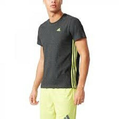 official images shades of incredible prices Adidas Sport Essentials Climalite Mens Gym Athletic Fit Tee AK1776 Gray XL  New