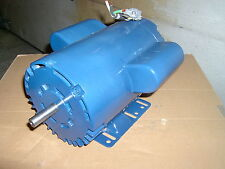 Leeson 1.5 HP electric motor, single phase