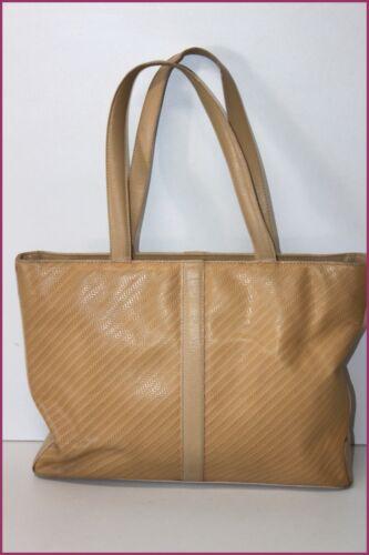 in color Vintage ocra spalla Shopping Lancel bag essere pelle wZCq1Ig