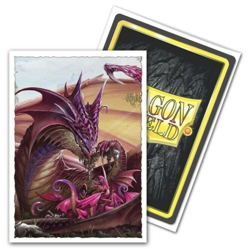 DRAGON SHIELD Mother/'s Day Dragon 100 Matte CARD SLEEVES DECK PROTECTORS MTG
