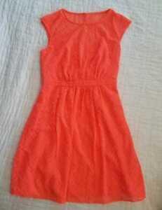 63d1a6e3533c9 NEW WOMENS 2P 10 J CREW SLEEVELESS CHIFFON DRESS IN ZIGZAG NEON ...
