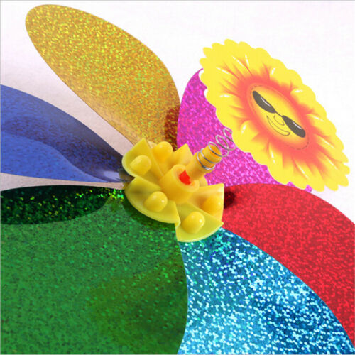 Kinderspielzeug bunte Pailletten Windmühle Wind CNinner Home Garden Yard CN