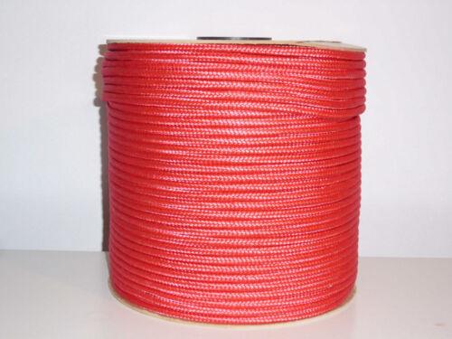 10mm 0,59-0,99€//m Seil Kunststoff Dekoleine Reepschnur Tau Seil günstig Paracord