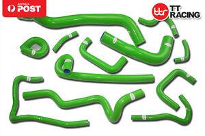 For-Nissan-Skyline-ECR33-R33-GTS-25T-RB25DET-Silicone-Radiator-Hose-Kit-93-98
