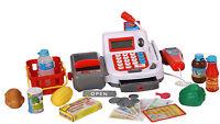 Kasse Scannerkasse für Kaufladen mit Mikrofon viel Zubehör 269390 NEU ovp