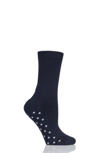Ladies 1 Pair Thought Solid Doris Plain Bamboo Socks