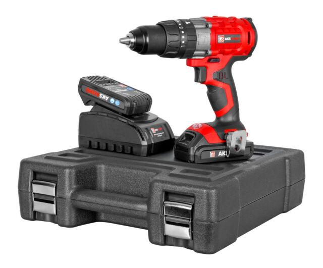 Trapano Battente a Batteria AKS45IND Qualità Industriale + 2 Batteria Brushless