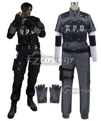 Anime Resident Evil 4 Rpd Leon Scott Kennedy Cosplay Costume