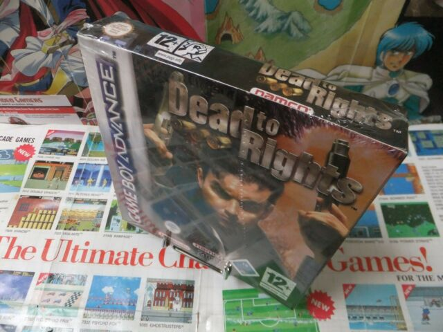 Game Boy Advance GBA:Dead To Rights [TOP & 1ERE EDITION] Fr
