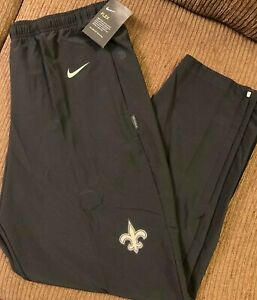 Nike Dri Fit New Orleans Saints Flex Woven Team Training Pants men NFL football