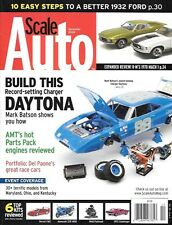 Scale Auto Enthusiast Dec 2008 Daytona Charger AMT Engine 1932 Ford Hot Rod Mach