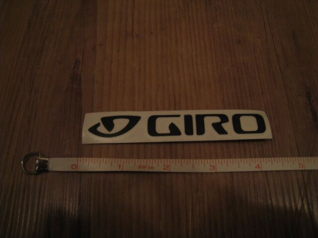 Giro Sticker, 4 1/4 inches