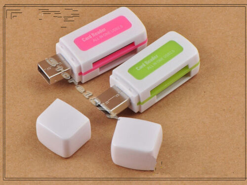 USB 2.0 All In One MS M2 SDHC TF Micro SD Flash Memory Card Reader s689