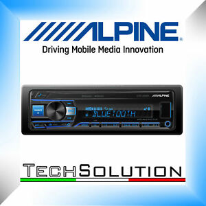 Alpine-UTE-200BT-Autoradio-Stereo-USB-AUX-Bluetooth-2-Pre-Out-Garanzia-ITALIA