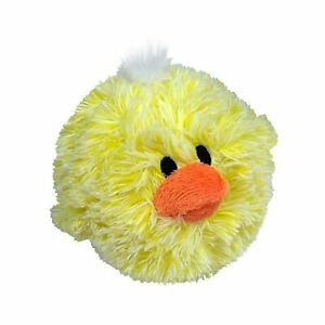 """4/"""" Petlou Squeaky Chick Ball Dog Toy"""