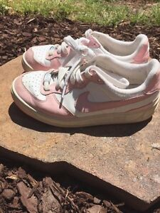 size 40 f8bf9 ade40 Image is loading NIKE-Pretty-in-Pink-Jordans-Stylish-Sneakers-GIRLS-
