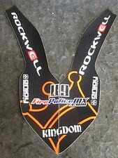 KTM SX/SXF/EXC 125-450 07-11 Rockwell Parafango anteriore grafica decalcomania