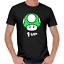 Mushroom-Pilz-1-UP-Gamer-Nerd-Geek-Geschenk-Sprueche-Lustig-Spass-Comedy-T-Shirt Indexbild 1