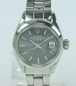 ROLEX-Oyster-Perpetual-Lady-Datejust-Edelstahl-automatic-ueberholt