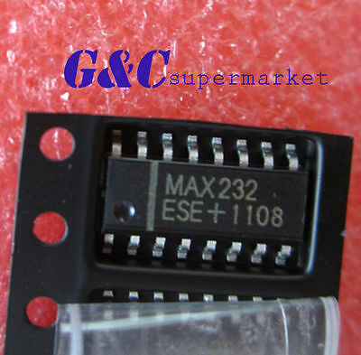 10PCS IC MAX232ESE MAX232 2DVR/2RCVR RS232 5V 16-SOP  NEW DATE CODE