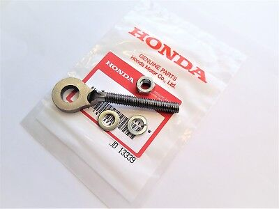 NUT /& WASHERS HONDA ATC 110 125 M 185 S  200 E M REAR WHEEL OEM CHAIN ADJUSTER