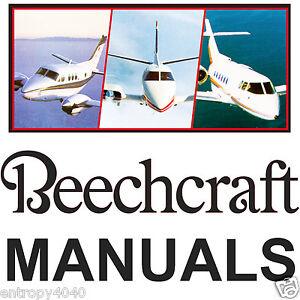 beechcraft bonanza wiring service manual parts catalog manuals rh ebay com beechcraft baron 58 service manual beechcraft musketeer service manual